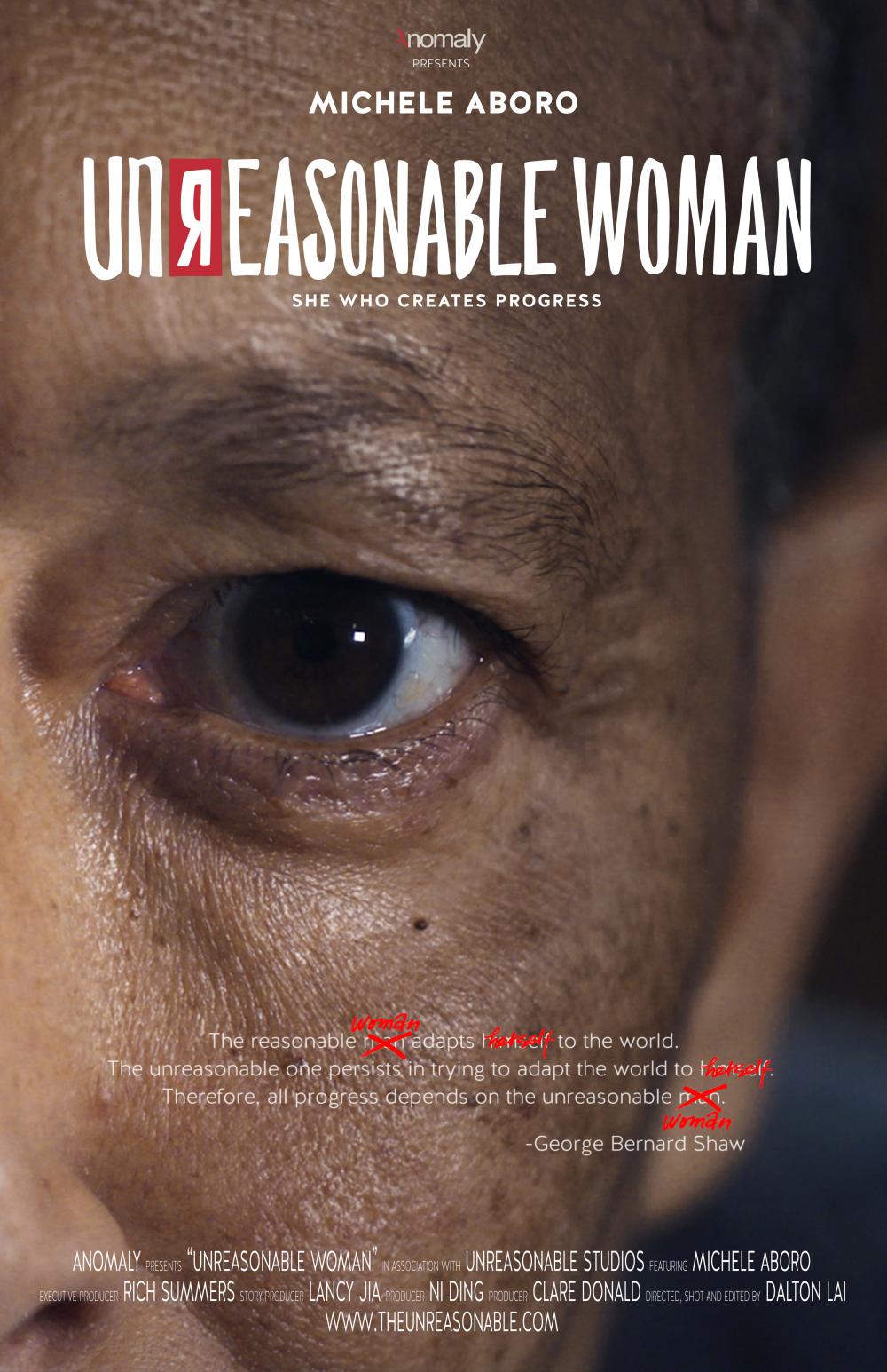 向全球女性致敬,Anomaly携手Unreasonable Studios在2019年国际妇女节推出全新纪录片