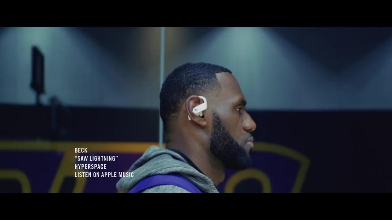苹果分享 Powerbeats Pro 宣传广告:运动员释放自我