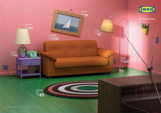 宜家用真实家具还原了电视剧布景