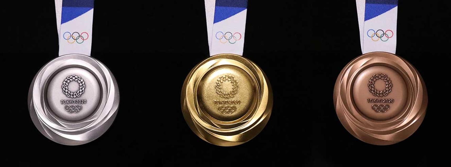 东京奥组委公布奖牌制作短片:621万部旧手机提炼出32kg纯金